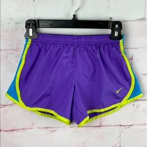 NIKE DRI-FIT Purple Running Shorts